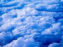 Εναέρια άποψη των σύννεφων stratocumulus το βράδυ Στοκ Εικόνες