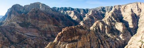 Εναέρια άποψη των τραχιών βουνών κοντά στο Λας Βέγκας, Νεβάδα στοκ φωτογραφία