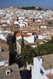 Εναέρια άποψη Antequera της πόλης Στοκ φωτογραφία με δικαίωμα ελεύθερης χρήσης