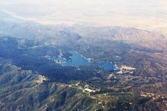 Εναέρια άποψη Arrowhead λιμνών σε Καλιφόρνια, οι ΗΠΑ Στοκ Φωτογραφία
