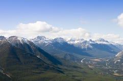 Εναέρια άποψη Banff Στοκ εικόνα με δικαίωμα ελεύθερης χρήσης