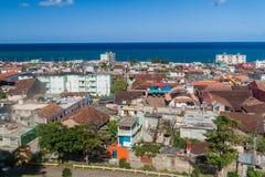 Εναέρια άποψη Baracoa, $cu στοκ φωτογραφίες