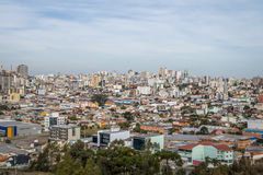 Εναέρια άποψη Caxias do Sul City - Caxias do Sul, Rio Grande κάνει τη Sul, Βραζιλία Στοκ φωτογραφία με δικαίωμα ελεύθερης χρήσης