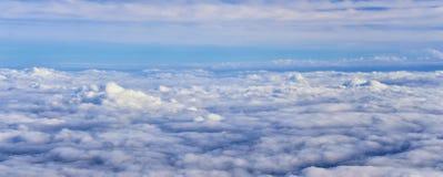 Εναέρια άποψη Cloudscape πέρα από midwest τα κράτη στην πτήση πέρα από το Κολοράντο, το Κάνσας, το Μισσούρι, το Ιλλινόις, τη Ιντι στοκ φωτογραφίες με δικαίωμα ελεύθερης χρήσης