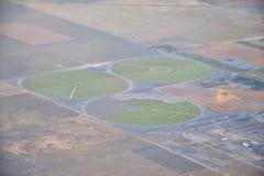Εναέρια άποψη Cloudscape πέρα από midwest τα κράτη στην πτήση πέρα από το Κολοράντο, το Κάνσας, το Μισσούρι, το Ιλλινόις, τη Ιντι στοκ εικόνες με δικαίωμα ελεύθερης χρήσης