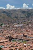 Εναέρια άποψη Cusco Περού Στοκ εικόνες με δικαίωμα ελεύθερης χρήσης