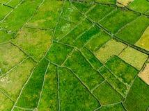 Εναέρια άποψη Inishmore ή Inis Mor, ο μεγαλύτερος των νησιών Aran Galway στον κόλπο, Ιρλανδία Στοκ Εικόνες