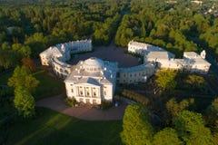 Εναέρια άποψη Pavlovsk του παλατιού Pavlovsk στοκ εικόνα με δικαίωμα ελεύθερης χρήσης