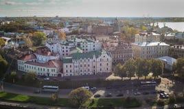 Εναέρια άποψη Vyborg, Ρωσία Στοκ εικόνες με δικαίωμα ελεύθερης χρήσης