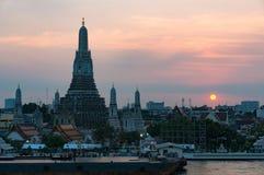 Εναέρια άποψη Wat Arun, ναός της Dawn Στοκ Φωτογραφίες