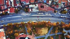Εναέρια έρευνα της Ιστανμπούλ απόθεμα βίντεο
