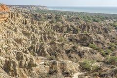 Εναέρια έρημος άποψης στην Ανγκόλα στοκ εικόνες