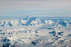 εναέρια βουνά Στοκ εικόνα με δικαίωμα ελεύθερης χρήσης