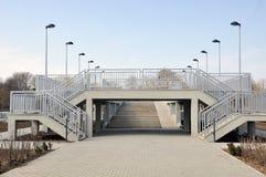 Εναέρια γέφυρα Στοκ Εικόνες