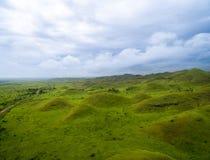 Εναέρια εικόνα της δύσης - αφρικανικοί λόφοι, βουνά του φεγγαριού Στοκ εικόνα με δικαίωμα ελεύθερης χρήσης