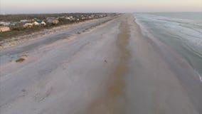 Εναέρια θέρετρα του ST Augustine beachfront φιλμ μικρού μήκους