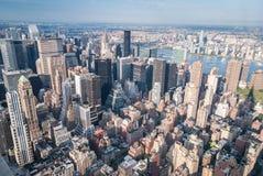 εναέρια Νέα Υόρκη Στοκ Φωτογραφία