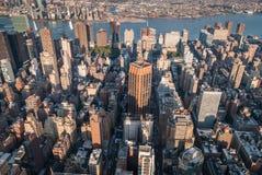 εναέρια Νέα Υόρκη Στοκ Φωτογραφίες