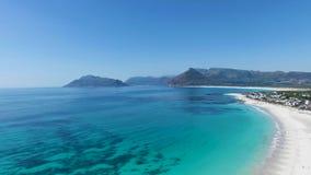 Εναέρια νοτιοαφρικανική παραλία φιλμ μικρού μήκους