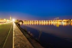Εναέρια πανοραμική άποψη του Μπορντώ, Γαλλία στοκ εικόνες με δικαίωμα ελεύθερης χρήσης