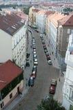 Εναέρια Πράγα Στοκ εικόνα με δικαίωμα ελεύθερης χρήσης