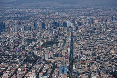 εναέρια πόλη Μεξικό Στοκ Εικόνες