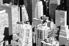 Εναέρια πόλη της Νέας Υόρκης Στοκ Φωτογραφίες