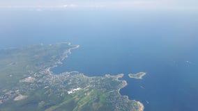 Εναέρια πόλη Στοκ φωτογραφία με δικαίωμα ελεύθερης χρήσης