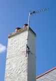 εναέρια στέγη Στοκ Φωτογραφίες