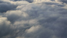 Εναέρια σύννεφα απόθεμα βίντεο