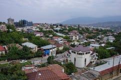 Εναέρια τοπ άποψη Stepanakert η πρωτεύουσα του Ναγκόρνο-Καραμπάχ Artsakh στοκ φωτογραφίες με δικαίωμα ελεύθερης χρήσης