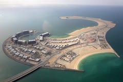 Εναέρια φωτογραφία άποψης νησιών του Ντουμπάι Daria Στοκ φωτογραφίες με δικαίωμα ελεύθερης χρήσης