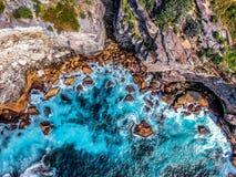 Εναέρια φωτογραφία του Σίδνεϊ - κόλπος διαμαντιών στοκ εικόνες