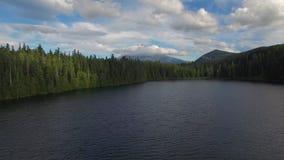 Εναέρια χαμένη το Όρεγκον λίμνη απόθεμα βίντεο