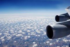 εναέρια όψη αεροπλάνων Στοκ Εικόνες