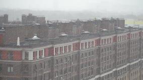 εναέρια όψη κτηρίων απόθεμα βίντεο