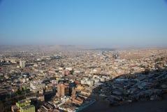 εναέρια όψη πόλεων της Χιλή&sigm Στοκ Εικόνα