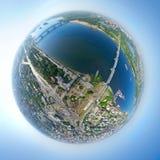 Εναέρια όψη πόλεων Στοκ φωτογραφίες με δικαίωμα ελεύθερης χρήσης