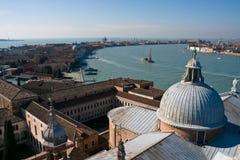 εναέρια όψη της Βενετίας νησιών giudecca Στοκ φωτογραφία με δικαίωμα ελεύθερης χρήσης