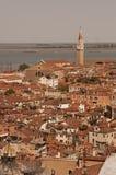εναέρια όψη της Βενετίας πό&lam Στοκ φωτογραφίες με δικαίωμα ελεύθερης χρήσης