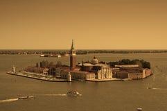 εναέρια όψη της Βενετίας πό&lam Στοκ Εικόνα