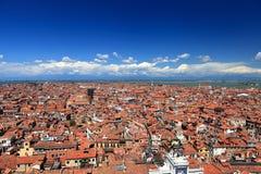 Εναέρια όψη της Βενετίας Στοκ εικόνα με δικαίωμα ελεύθερης χρήσης