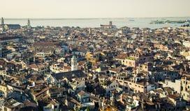 Εναέρια όψη της Βενετίας Στοκ εικόνες με δικαίωμα ελεύθερης χρήσης