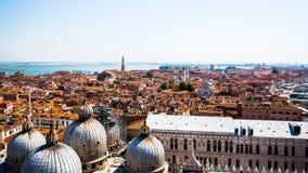 Εναέρια όψη της Βενετίας Στοκ Εικόνα