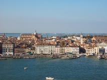 Εναέρια όψη της Βενετίας Στοκ Εικόνες