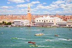 Εναέρια όψη της Βενετίας Στοκ Φωτογραφία