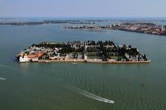 εναέρια όψη της Βενετίας murano &t Στοκ Εικόνα