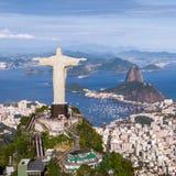 εναέρια όψη της Βραζιλίας de j στοκ εικόνα