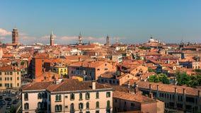 εναέρια όψη της Ιταλίας Βε& Στοκ Φωτογραφία