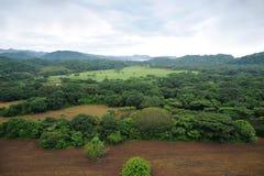 εναέρια όψη της Κόστα Ρίκα Στοκ εικόνα με δικαίωμα ελεύθερης χρήσης